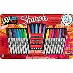 Sharpie Permanent Markers Limited Edition 21ct Value Pack $9.28