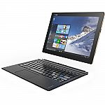 "Lenovo IdeaPad Miix 700 12"" Full HD+ Touchscreen Tablet with Keyboard (m7-6Y75, 8GB, 256GB SSD) $599"