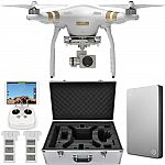 DJI Phantom 3 Professional Drone w/4K Cam w/ 3-Axis Gimbal 2TB Hard Drive Bundle $899