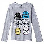 Kohls Cardholders: Big Girls' Star Wars Tees $1.70
