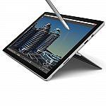 "Microsoft Surface Pro 4 12.3"" i5-6300U 4GB 2.2GHz 128GB Win10Pro Wi-Fi Tablet PC (Manufacture Refurbished) $660"