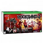 Rock Band 4 - Band In A Box Bundle $99