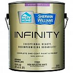 Buy 1 Get 1 Free (via Rebate) on Select HGTV HOME by Sherwin-Williams Infinity Paint