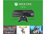 Xbox One 1TB Console + 3 Games for $229