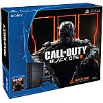 Refurbished PlayStation 4 500GB Console Bundle with Call of Duty Black Ops III (PS4) $249