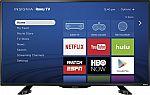 "39"" Insignia NS-39DR510NA17 1080p Roku Smart LED HDTV $190"