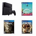 PlayStation 4 Core Console+ No Man's Sky+ Fallout 4+ Far Cry Primal $370
