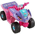 Fisher-Price Power Wheels Dora and Friends Lil' Quad 6-Volt Battery-Powered Ride-On $45