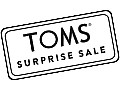 TOMS Surprise Sale coupons and coupon codes