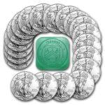 2015 1 oz Silver American Eagle Coin Lot of 20 $373.20