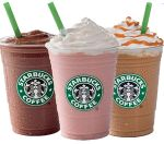 Frappuccino Beverages Happy Hour 50% Off (5/5-14, 3-6 pm)