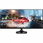 """34"""" LG Electronics 34UM57 IPS WFHD Ultrawide Monitor $300"""