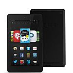 "Certified Refurbished Fire HD 6, 6"" HD Display, Wi-Fi, 8 GB $59"