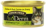 24-Pack 3oz AvoDerm Natural Entree Chicken and Duck in Gravy for Cats $7.54