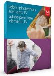 Adobe Photoshop and Premiere Elements 13 $68 and $40 Amazon Credit with Adobe Creative Cloud Photography plan Subscription