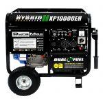 DuroMax 10000 Watt Hybrid Dual Fuel Portable Gas Propane Generator $499