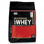 8 lbs Optimum Nutrition 100% Whey Gold Standard Powder $65