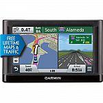 Garmin nuvi 56LMT GPS w/ Lifetime Maps, Traffic & 1-yr Warranty (Refurbished) $80