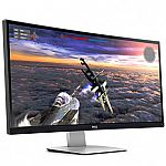 "34"" Dell U3415W UltraSharp 3440 x 1440 Curved Ultrawide Monitor $599"