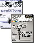Popular Photography & Outdoor Photographer Bundle $8/yr
