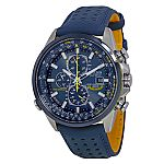 Citizen Eco Drive Leather Mens Watch AT8020-03L $260