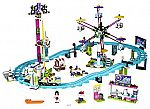 LEGO Friends Amusement Park Roller Coaster Building Kit $80 and more