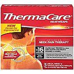 ThermaCare Neck, Wrist, & Shoulder Pain Heat wraps (3x3) $8.50
