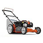 Husqvarna 5521P 21-Inch 140cc Briggs & Stratton Gas Powered 3-in-1 Push Lawn Mower With High Rear Wheels $147
