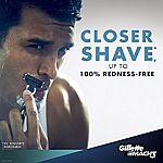 10-Count Gillette Mach3 Men's Razor Blade Refills $7