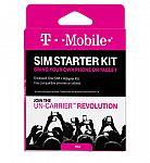 T-Mobile Prepaid 3-In-1 SIM Starter Kit $1