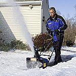 Snow Joe 18 Inch 15 Amp Electric Snow Thrower (SJ623E) $140