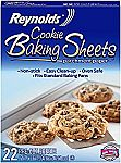 22-Count Reynolds Cookie Baking Sheets Non-Stick Parchment Paper $2.25