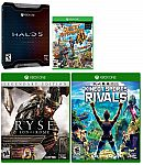 Microsoft Xbox One Halo 5 LE/Sports Rival/Sunset Overdrive/Ryse Game Bundle $29.95