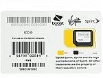 Sprint 3-in-1 Universal SIM Card $2.99