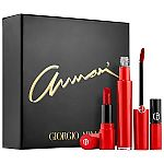 Giorgio Armani Beauty Armani Lip Set $38