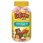 120-Ct L'il Critters Omega-3 Gummy Vitamins + $5 Target eGC 2 for $13