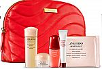 Macy's new GWP Free 6pc Skincare Gift with Any 2 Shiseido Items
