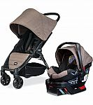 Britax B-Agile 4 & B-Safe 35 Travel System - Fossil Brown $229 ( Was $449.99)