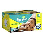 Pampers or Huggies Diapers Super Packs 8 for $200 w/ $80 Gift Card