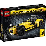 LEGO Ideas Caterham Seven 620R (21307) $65.51