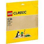 LEGO Classic Sand Baseplate $5.75