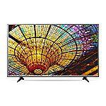 """60"""" LG 4K Ultra HD Smart LED HDTV 60UH615A $387"""