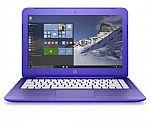 HP Stream 13-c120nr 13.3 Laptop (Inter N3050 2GB 32GB Win10 - Manufacture Refurbished) $130
