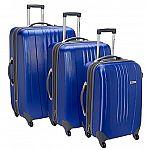 Traveler's Choice Toronto 3-Pc Hardside Spinner Luggage Set $65 + Free Shipping