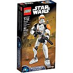 LEGO Star Wars Clone Commander Cody 75108 $11