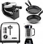 Macy's small kitchen appliance: waffle maker, frying pans,juicer $10 after rebate