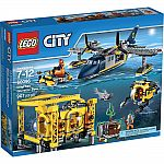 LEGO City Deep Sea Operation Base (60096) $60 (40% Off) and more