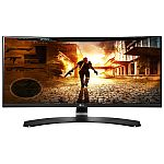 LG 29UC88 29-Inch 21:9 UltraWide FHD (2560x1080) IPS Curved Monitor $250