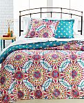 Bedding Sale: Ainsley 3-Pc. Full/Queen Comforter Set $14.65 and More