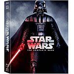 Star Wars: The Complete Saga (Episodes I-VI) (Blu-ray) $49